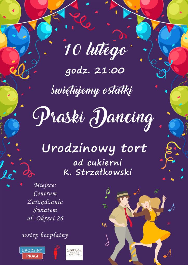 Praski dancing plakat