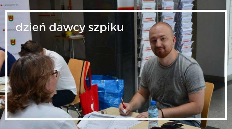 Dzień dawcy szpiku na Urodzinach Pragi