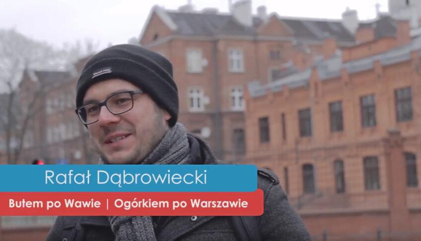 Praskie pogadanki – Rafał Dąbrowiecki Ogórkiem poWarszawie